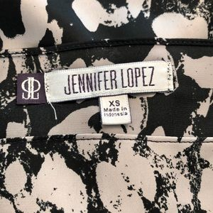 Jennifer Lopez Tops - Jennifer Lopez Bell Sleeves Animal Print Blouse